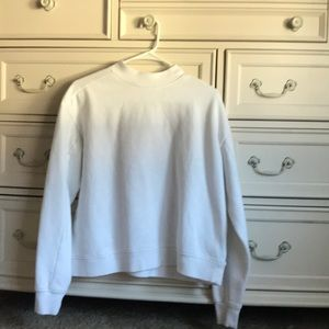 Cute plain white sweater
